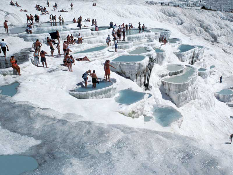 Pamukkale Thermal Pools – Denizli, Turkey