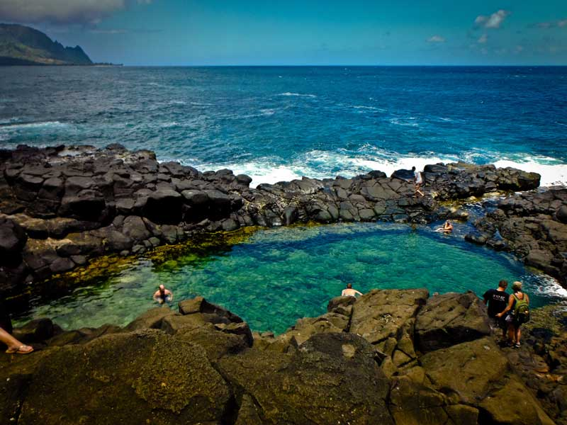 Queen's Bath - Kauai, Hawaii