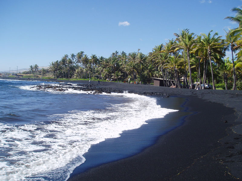 Punalu'u Beach, Big Island, Hawaii